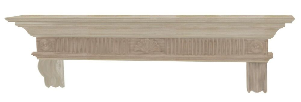 Pearl mantel devonshire fireplace mantel shelf pick size - Stone fireplace surround ideas ...
