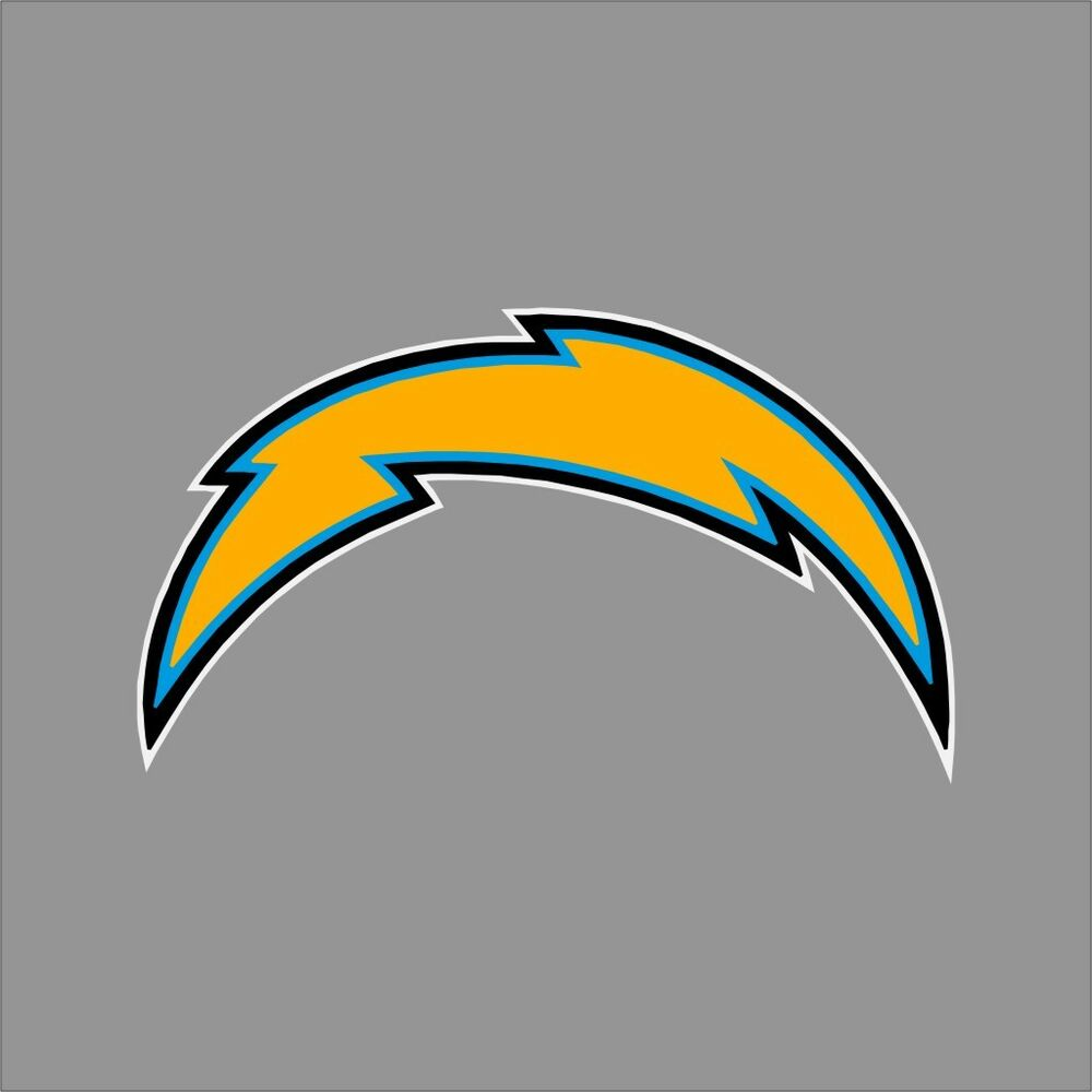 San Diego Chargers Football Team: San Diego Chargers NFL Team Logo Vinyl Decal Sticker Car