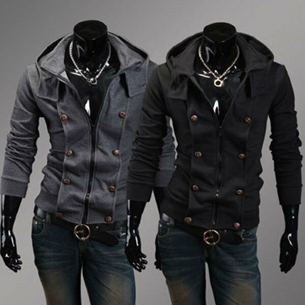Korean Men Coat Fashion