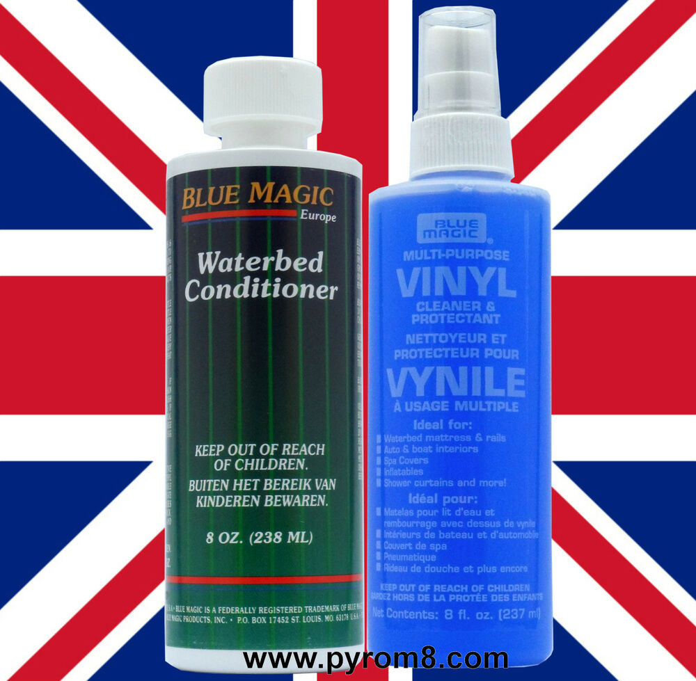 Blue Magic Cleaner : Blue magic waterbed vinyl cleaner ml and conditioner
