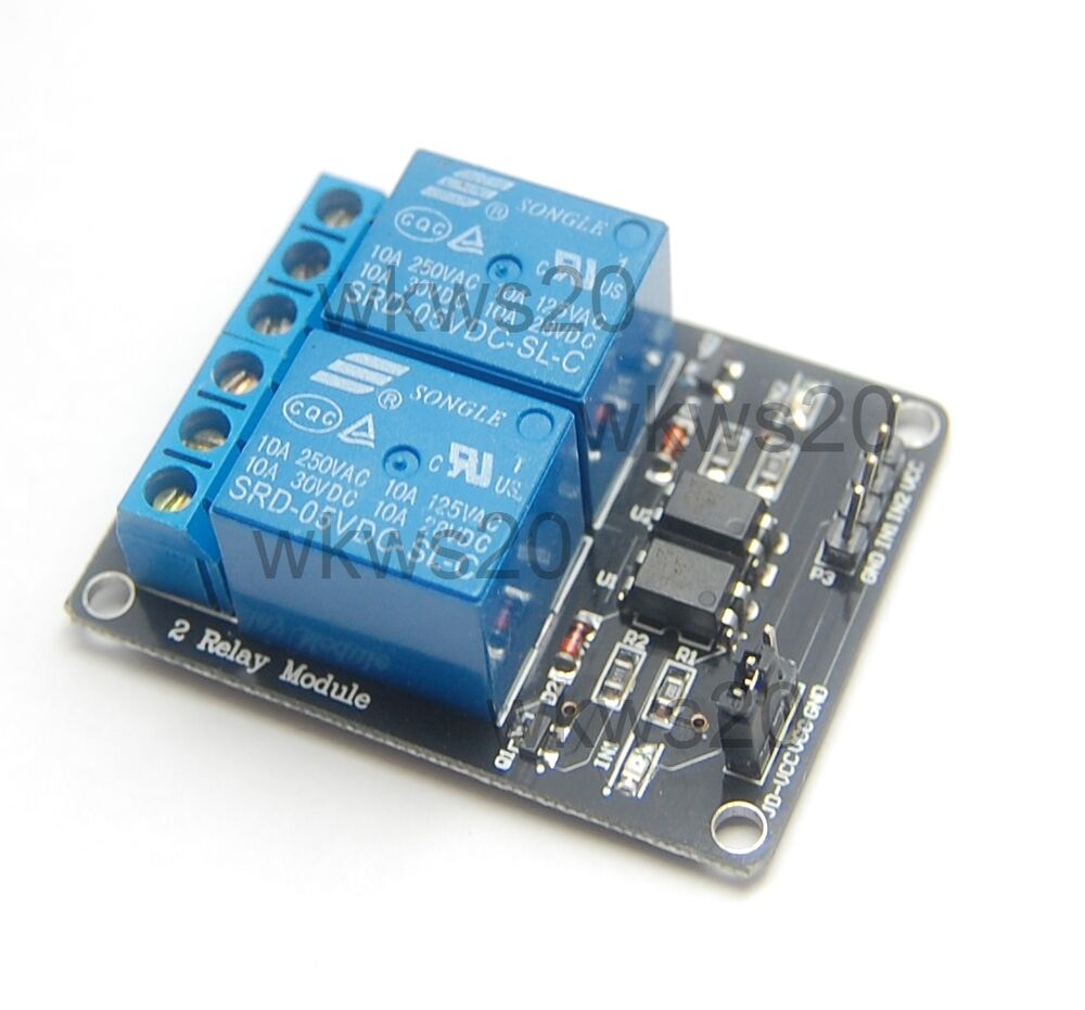 Dual v relay module for arduino dsp avr pic arm