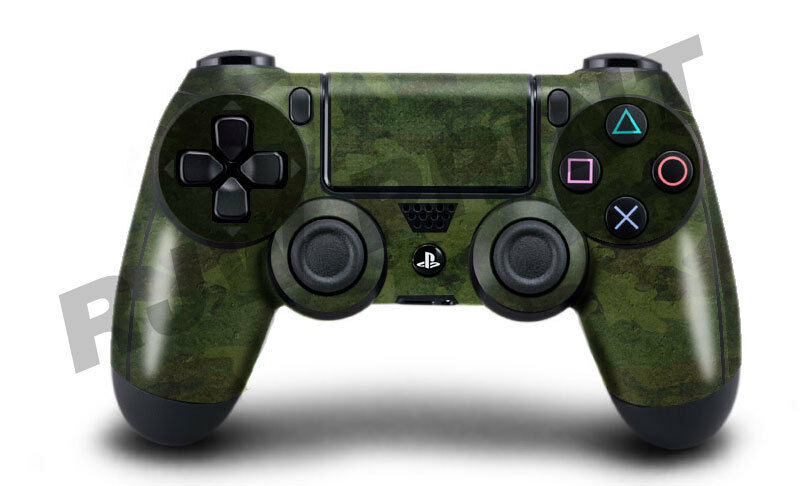 Playstation 4 (PS4) Controller Cover / Skin / Wrap - Green ...