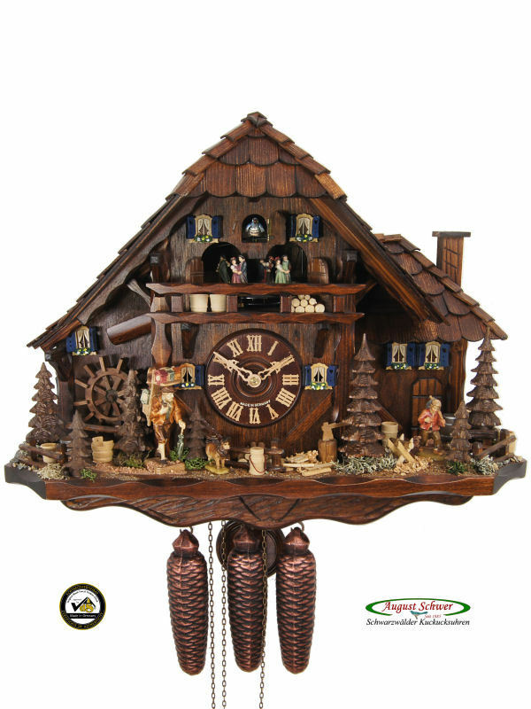 Black Forest Cuckoo Clock 8 Day Black Forest Farming