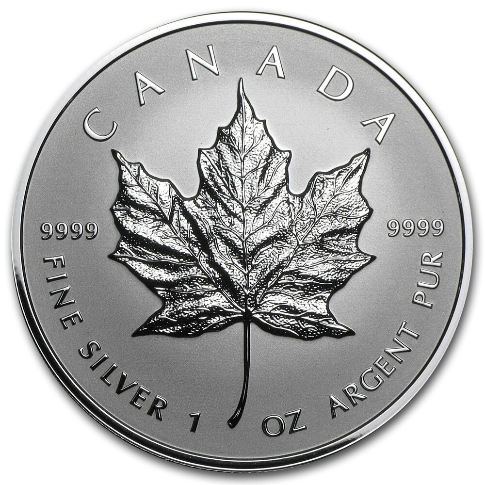 2014 1 Oz Reverse Proof Silver Canadian Maple Leaf Sku