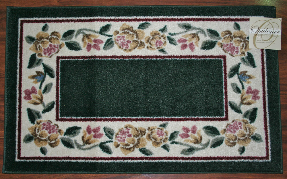 20x34 kitchen rug mat hunter green washable mats rugs