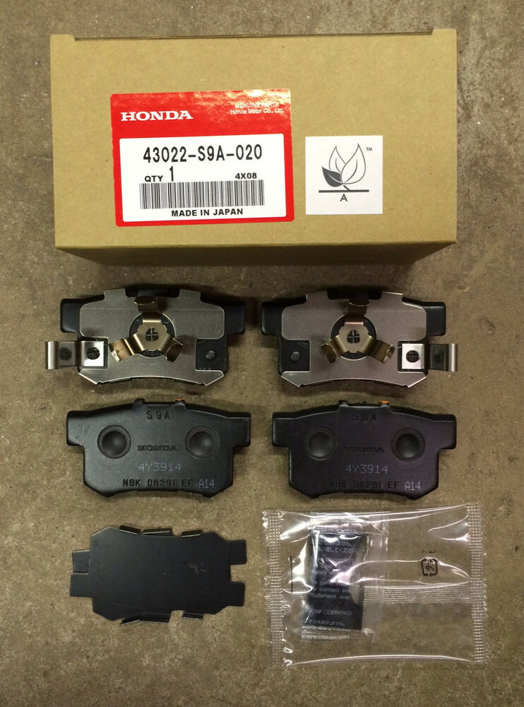Genuine Oem Honda Cr V Rear Brake Pad Set 2005 2016