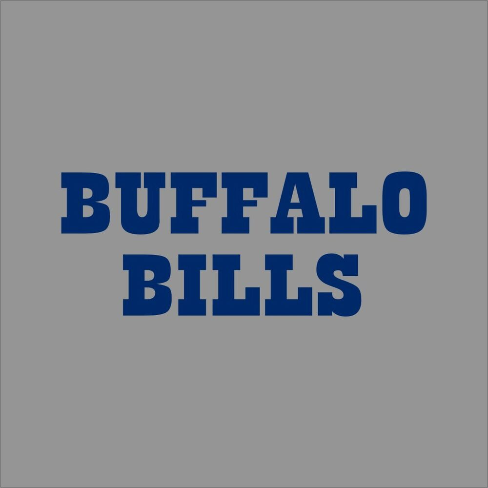 buffalo bills 3 nfl team logo vinyl decal sticker car window wall cornhole ebay