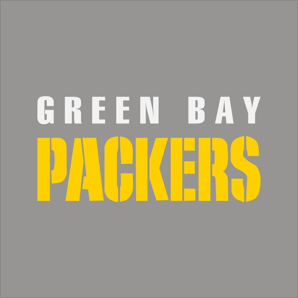 Green Bay Packers 3 Nfl Team Logo Vinyl Decal Sticker Car