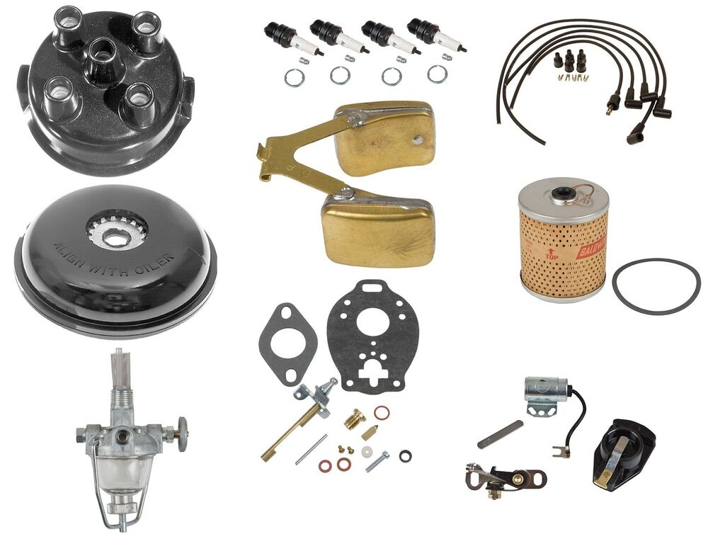 Ford 8n Tune Up Parts : Comprehensive maintenance tune up kit w float n ford