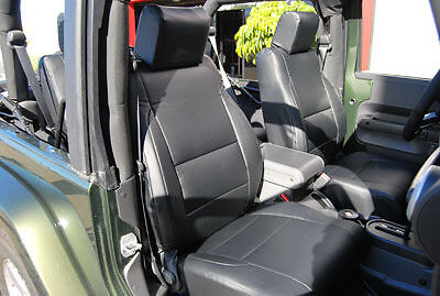 Jeep Wrangler 2007 2017 Iggee S Leather Custom Seat Cover 13colors Available Ebay