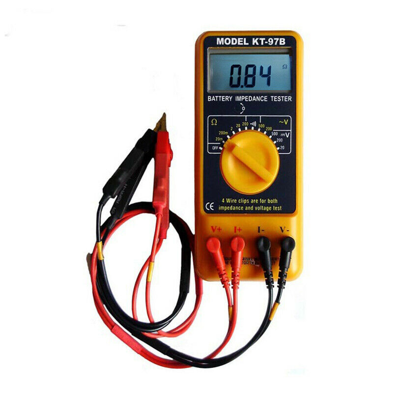 Battery Impedance Tester : Kt b battery impedance meter with mΩ resolution ebay