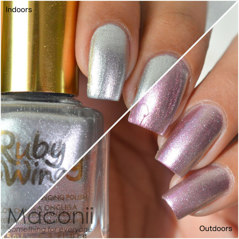 Nail Polish Colors Bronze: Silver Bronze Metallic Foil Mood
