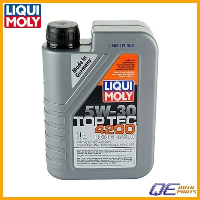 Volvo Top Tec 4200 Engine Oil Liqui Moly Top Tec 4200 5w