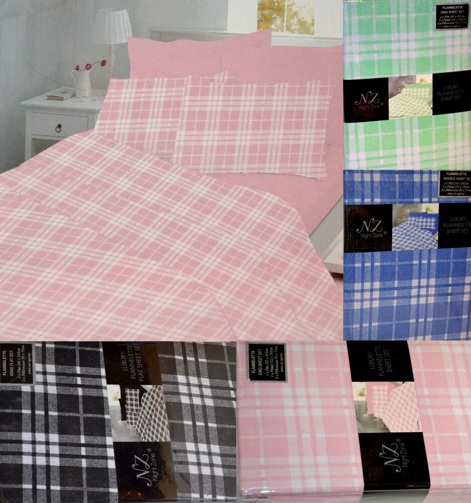 printed flannelette sheets fitted flat or 2 x flat sheet. Black Bedroom Furniture Sets. Home Design Ideas