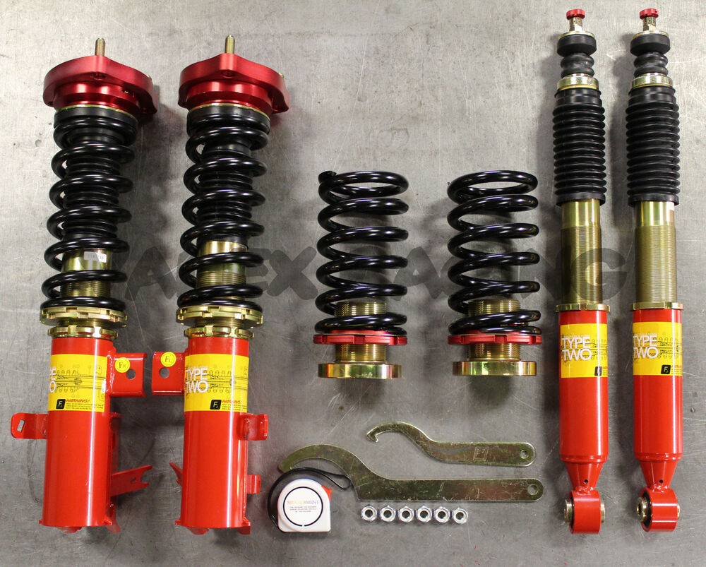 Function and Form Type 2 Coilovers Honda Civic 2006-2011 FG FA FD ...