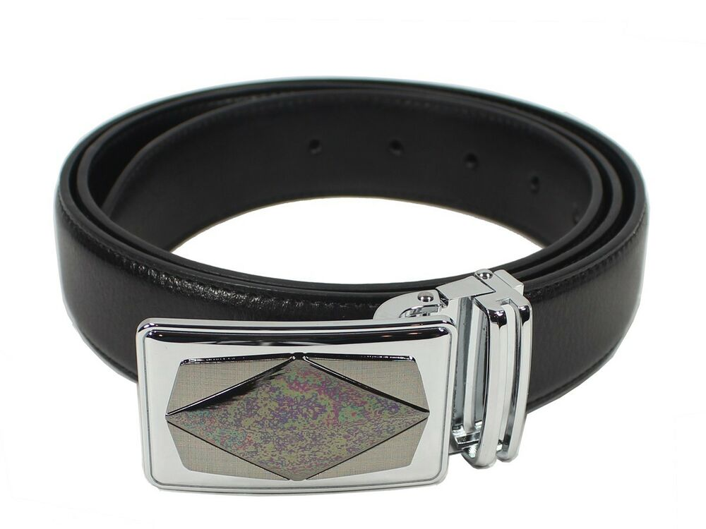 mens casual or dress genuine leather belt width 1 1 4