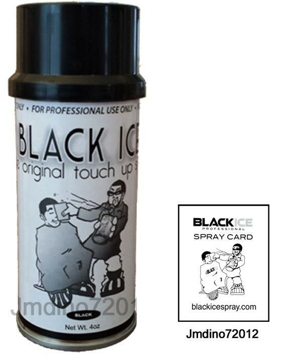 Black Ice Hair Spray >> New Black Ice Chromatone Hair Color Spray - Black - 4 Oz + Spray Card | eBay