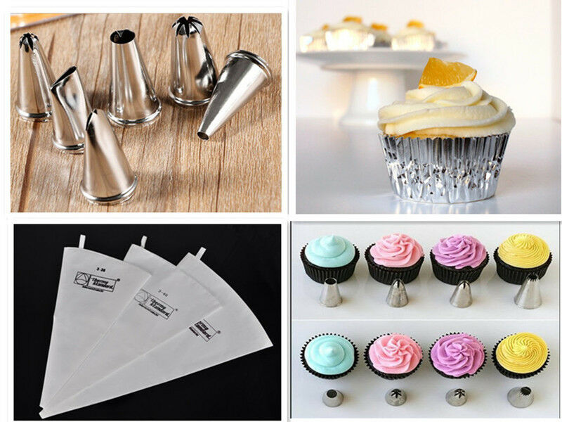 Cake Craft And Decoration Download Free : Icing Piping Nozzles / Reusable Cotton Pipng Bag Cake ...