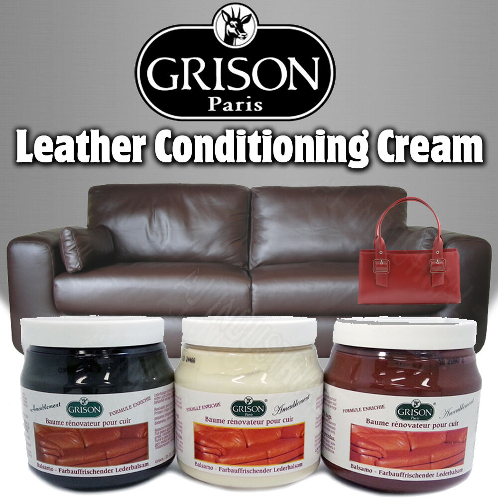 TRG LEATHER FURNITURE POLISH CREAM / CLEANER - Sofa Couch ...