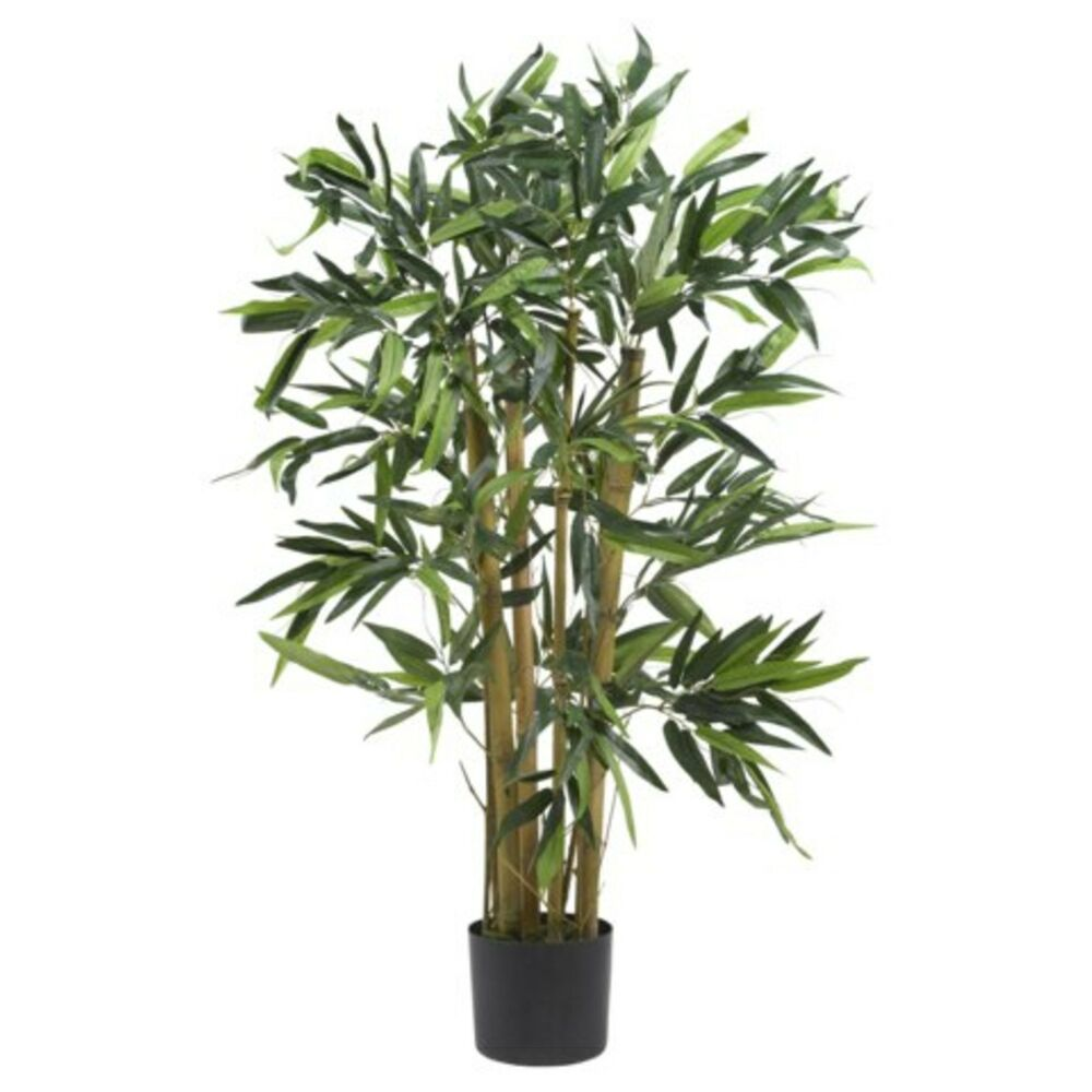Decorative natural looking artificial asian 3 39 biggy for Faux bambou plante