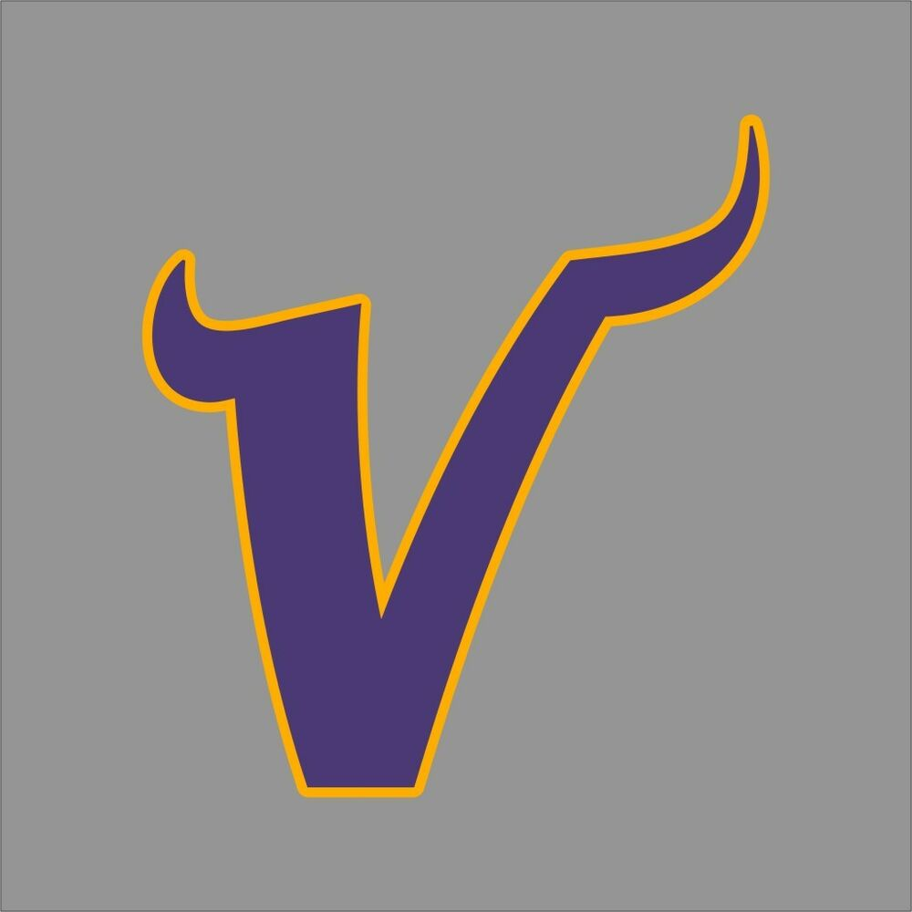 Minnesota Vikings 5 Nfl Team Logo Vinyl Decal Sticker Car