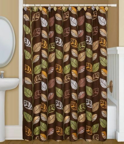 "PRINTED FABRIC SHOWER CURTAIN 70""X 72"" BY BETTER HOME NEW WITH TAGS ..."