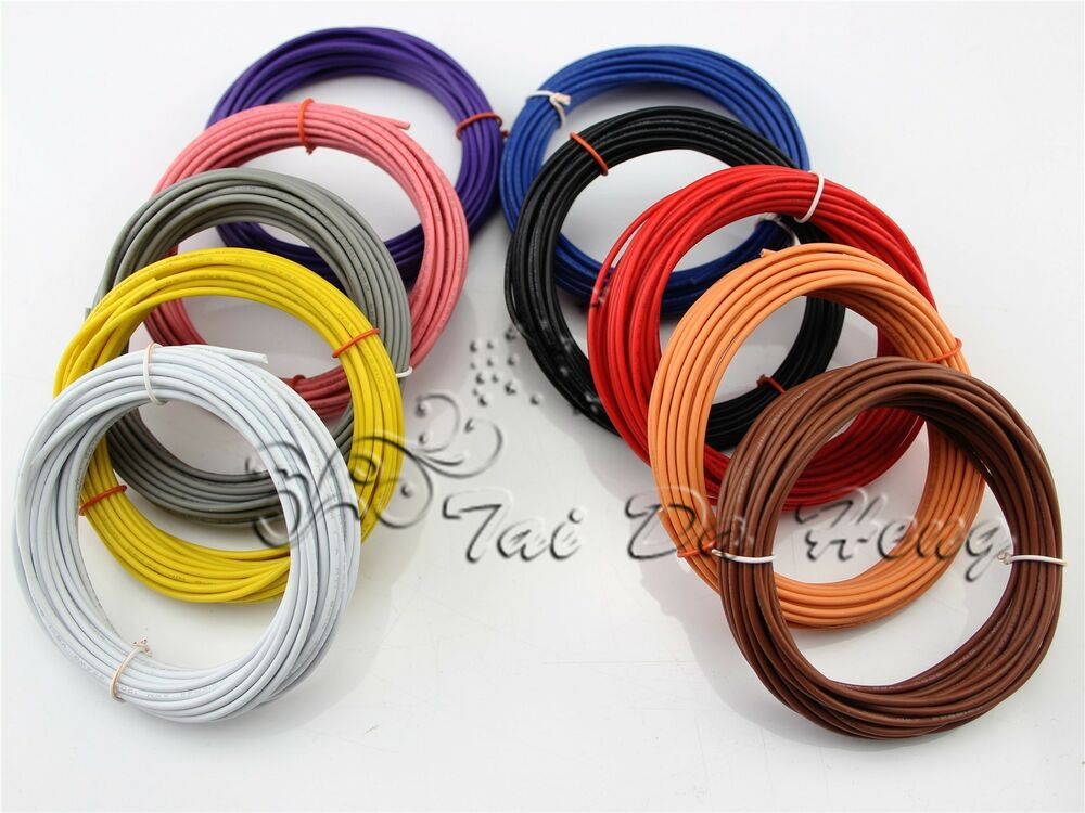 Do It Yourself Home Design: Flexible 16AWG~30AWG Stranded Cable UL1007 Wire Cord Hook