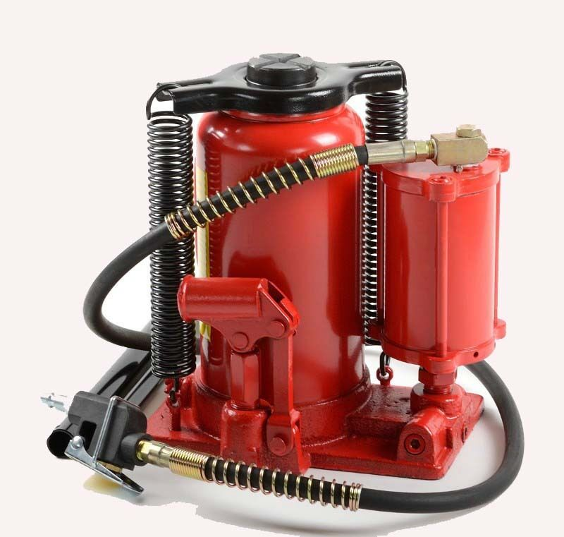 Air Amp Manual 20 Ton Hydraulic Bottle Jack Trolley Jack