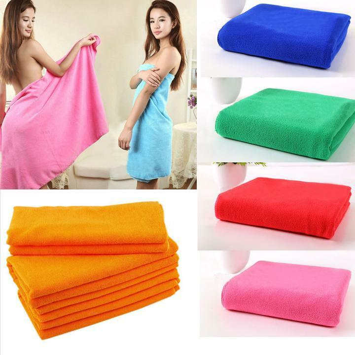 Zip Soft Microfiber Towel: Wholesale Lots Soft Absorbent Microfiber Washcloths Large