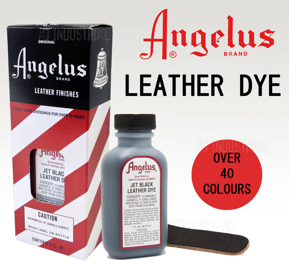 angelus leather dye for dying mens or boots shoes