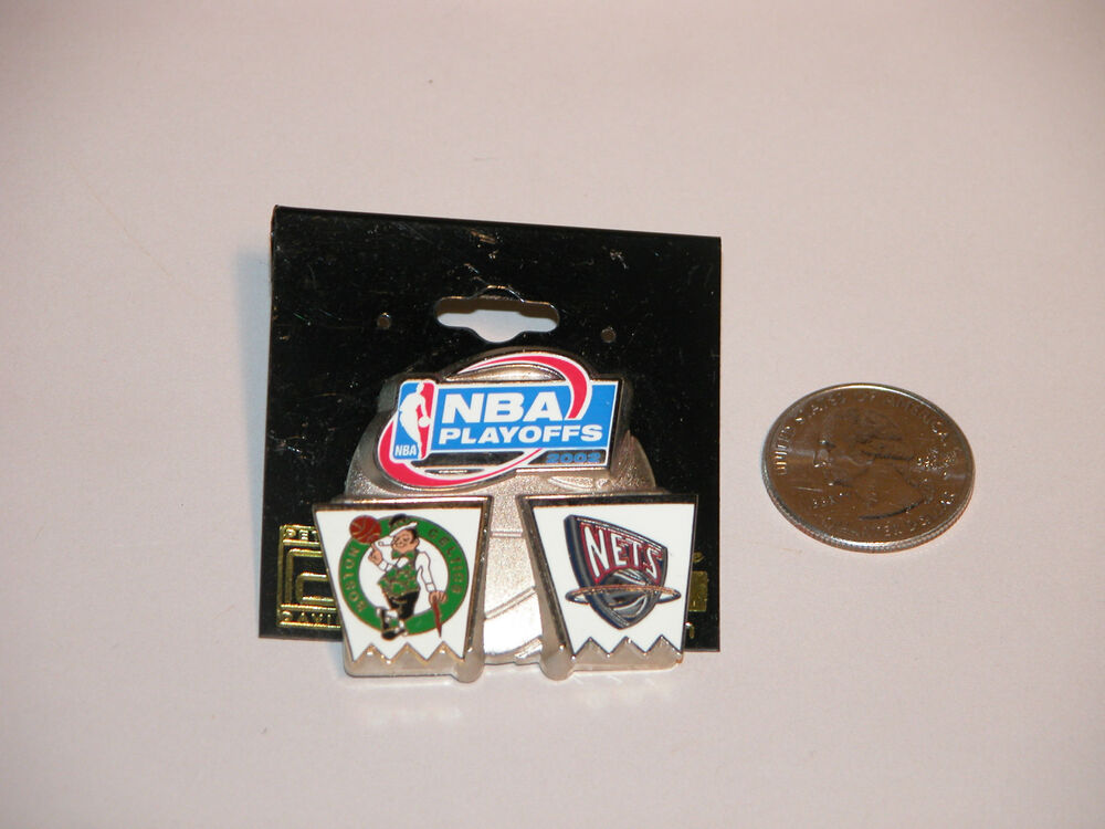 NEW JERSEY NETS NBA PLAYOFFS PIN 2003 EASTERN CONFERENCE