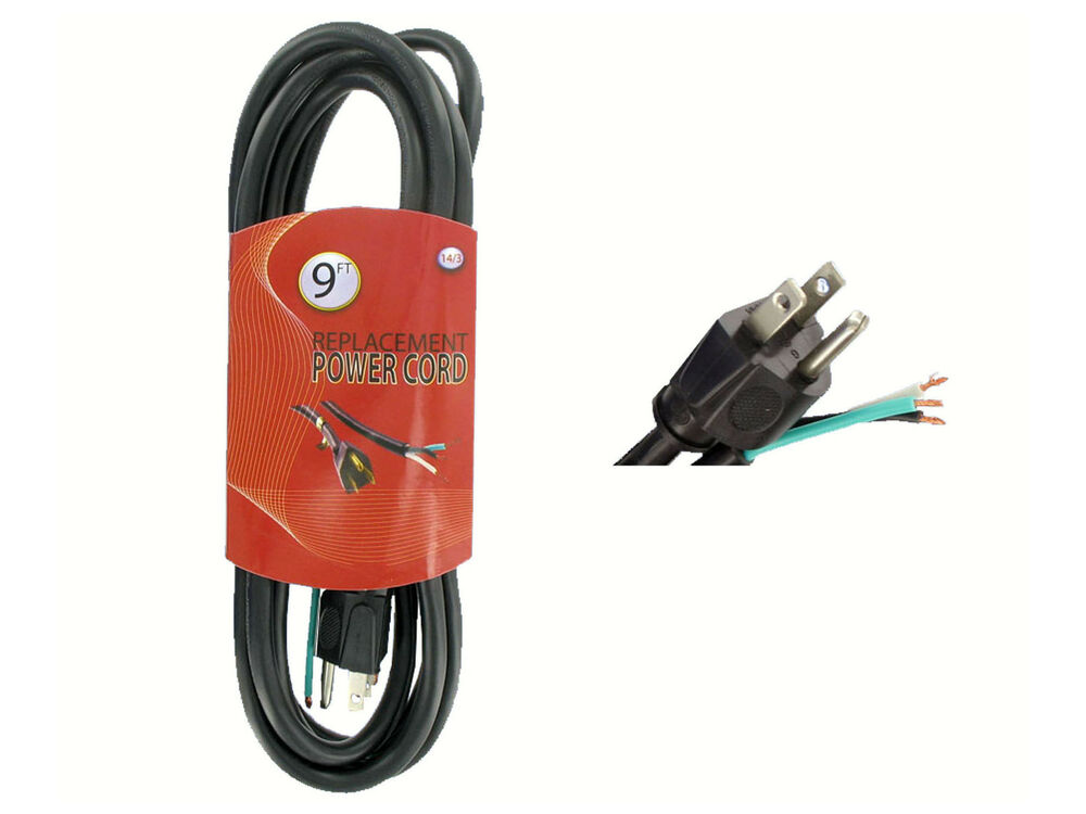 Cords For Electric Power Tools : Ft a v wire grounding replacement power cord