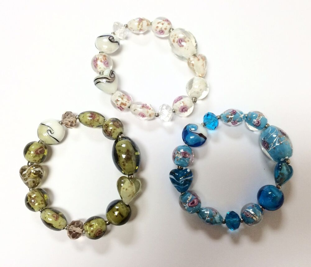 Murano Glass Beads Stretch Bracelet Bluegreenwhite Color. Pink Eternity Band. Celtic Bands. Brown Leather Necklace. Diamond Earrings. Rope Chain Necklace. Nautical Rope Bracelet. Moissanite Bands. Dark Blue Watches