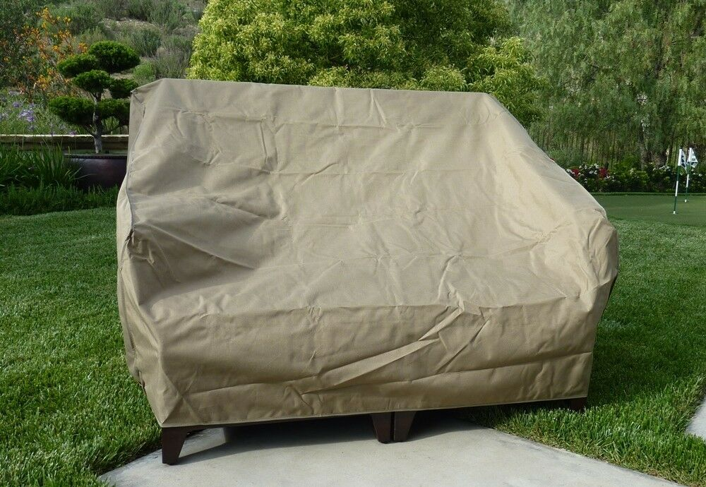 Patio Loveseat Bench Covers With Velcro Cover Up To 60
