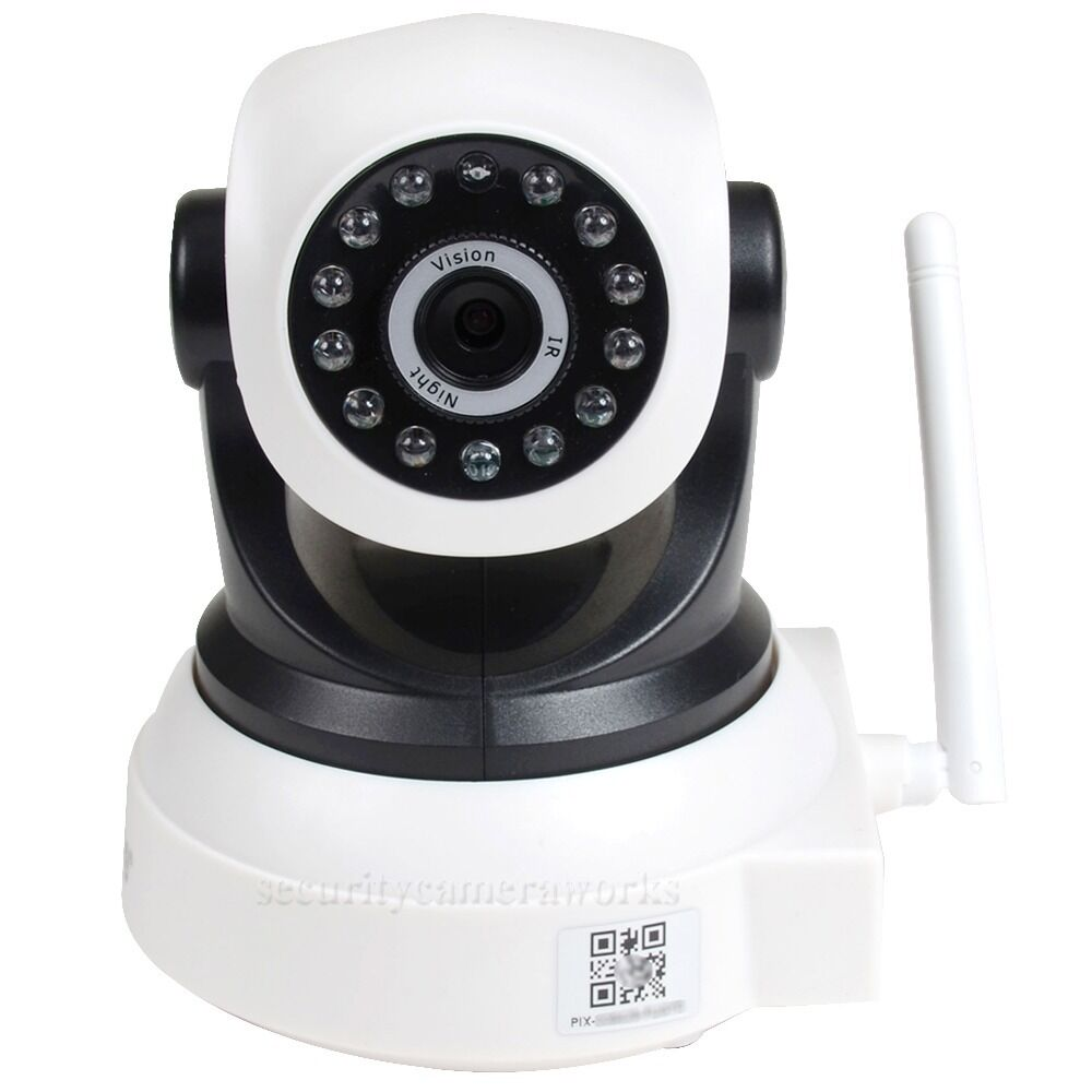wireless wifi security camera baby monitor ip network smartphone ir night bkw ebay. Black Bedroom Furniture Sets. Home Design Ideas