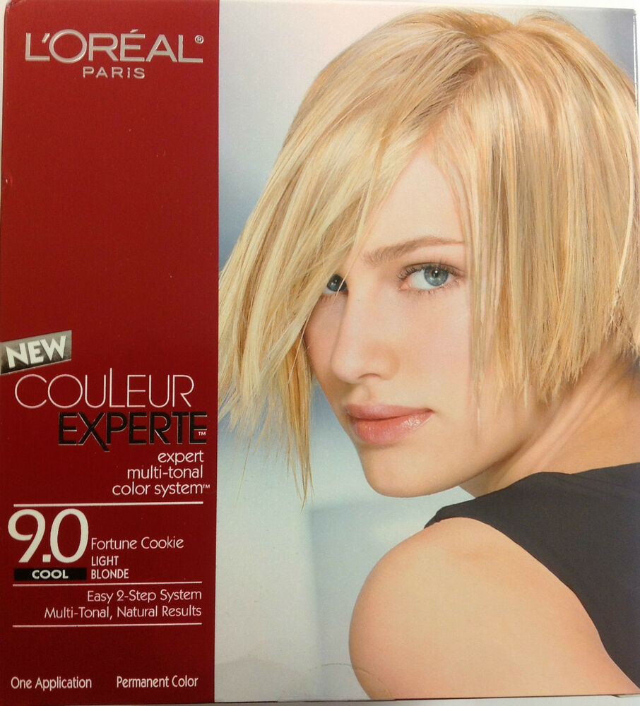 coloring l oreal hair color unique l oreal garnier color sensation 30 2014 24 best of l l oreal couleur experte expert multi tonal hair color light 9 0 cool ebay