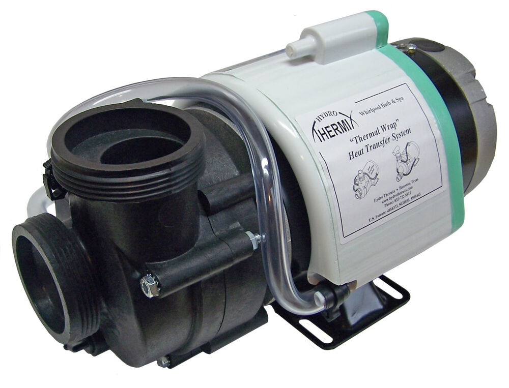 Hot tub pump 1 5 hp spl ultima ultra jet 2 w thermal for Spa motor and pump