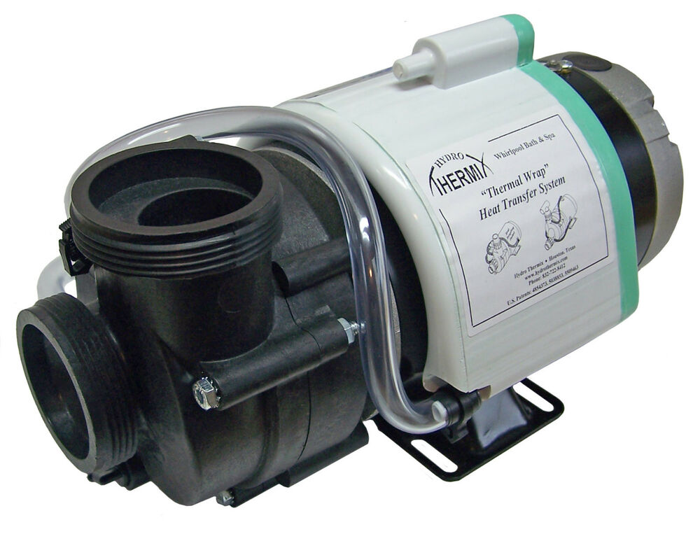 Hot tub pump 1hp full rated ultima ultra jet 2 w for Hot tub pumps and motors