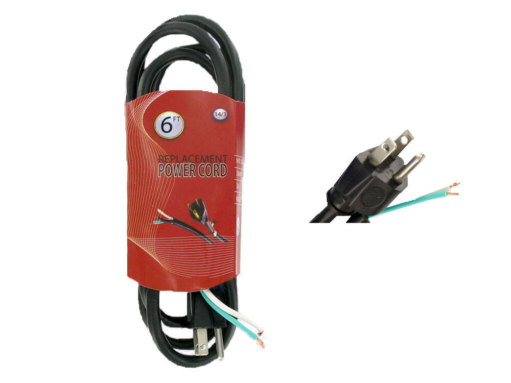 Cords For Electric Power Tools : Lot ft a v w grounding replacement power
