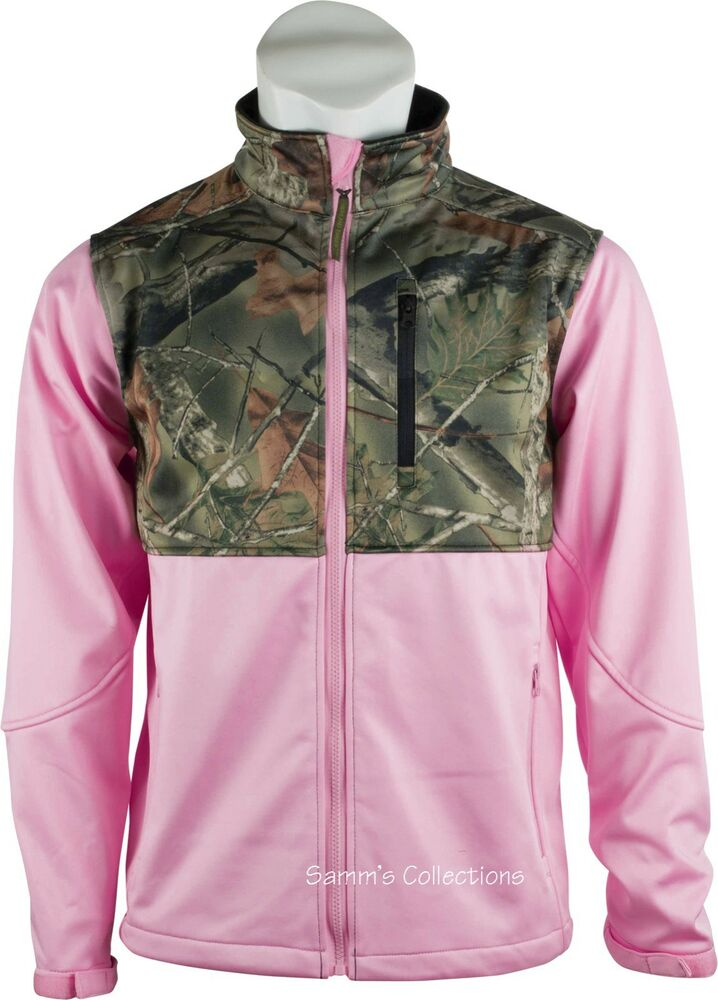 Pink camo jackets for women
