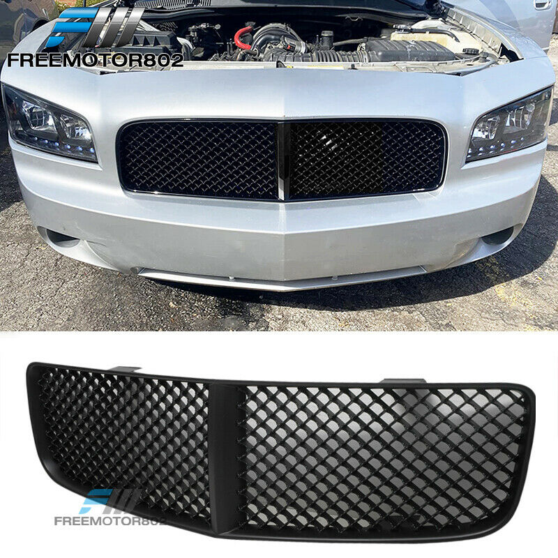 For 05 10 Dodge Charger Mesh Style Front Grille Grill Abs