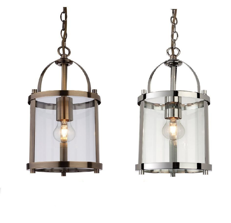 New Firstlight Imperial Lantern Pendant Chrome Or Antique