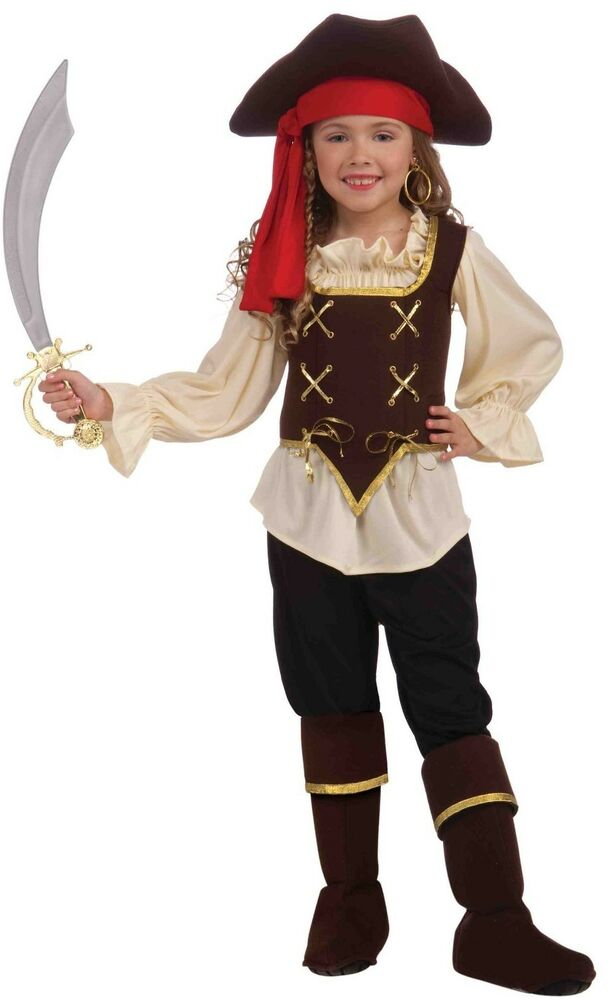 Girls Buccaneer Pirate Costume High Seas Halloween Fancy ... - photo#28
