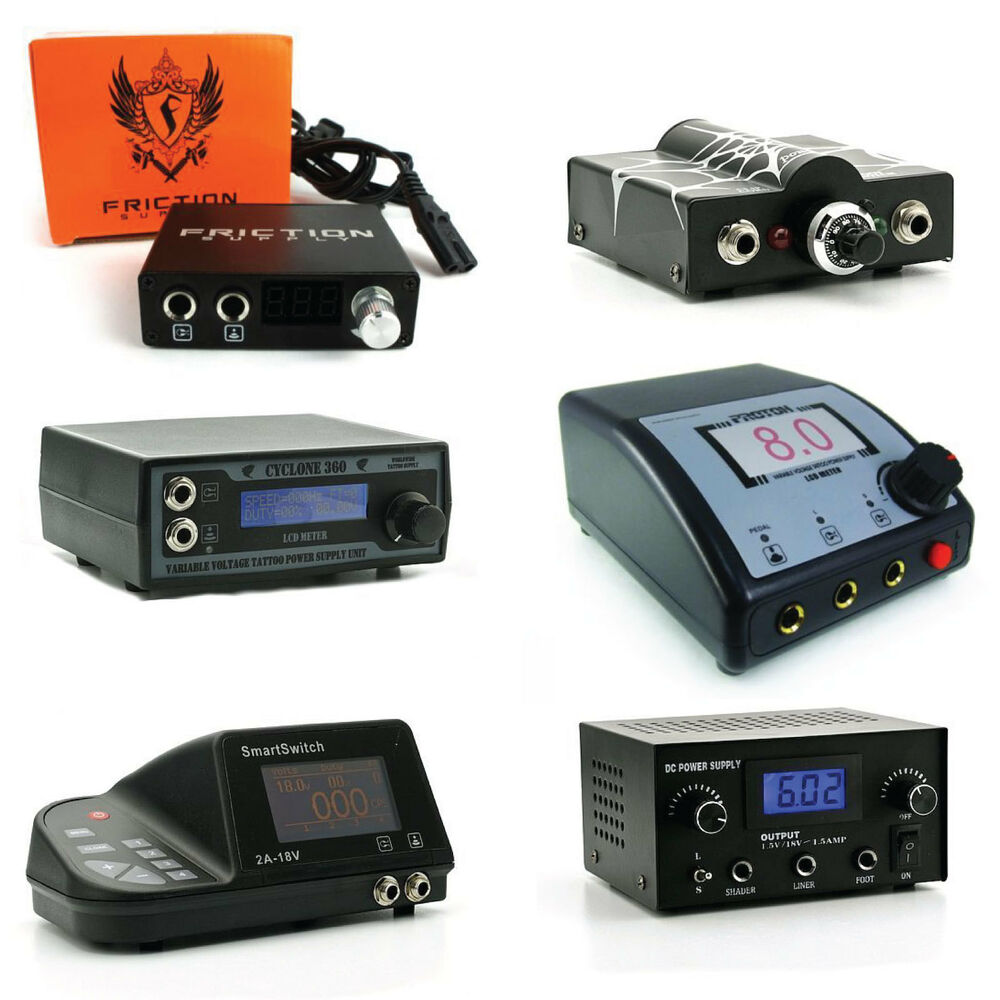 Tattoo digital power supply venus cyclone zenith for Power supply for tattoo