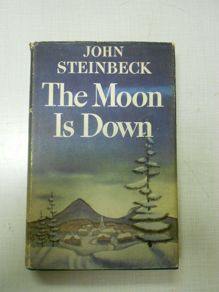 John Steinbeck, The Moon is Down First Edition, First ...