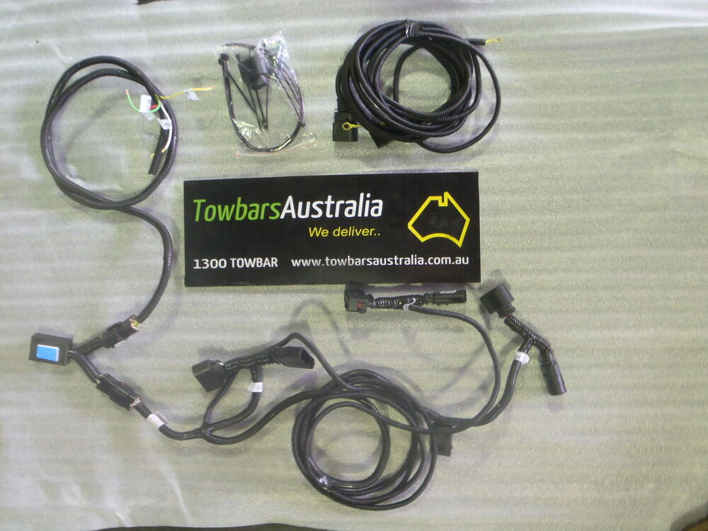 Toyota Hilux 2005 To 2015  08 Towbar Wiring Kit Tba278