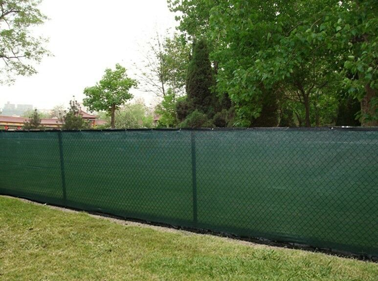 6ft x 50ft privacy fence screen shade cloth w binding On 6 ft privacy screen