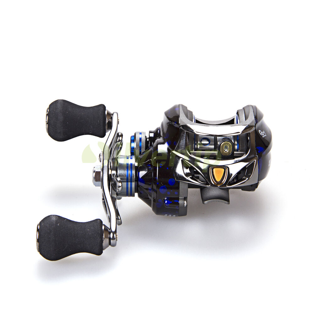 New dmk 12 1 bb 6 3 1 right hand baitcasting fishing reel for Baitcasting fishing reels