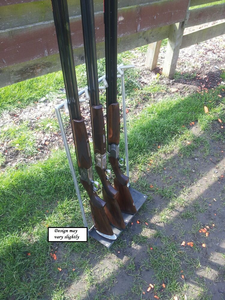 Outdoor Gun Rack Stand For Clay Pigeon Shooting