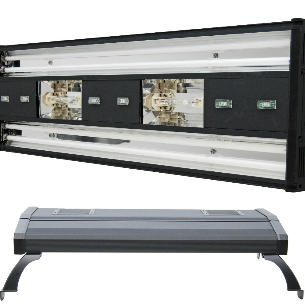 mh 48 metal halide t5 aquarium light 716w coral reef marine led 2x 250w bulbs 19962629761 ebay. Black Bedroom Furniture Sets. Home Design Ideas